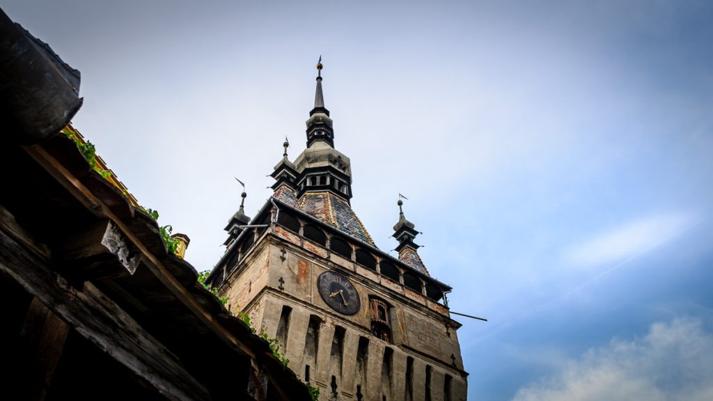 The Clock Tower in Sighisoara.