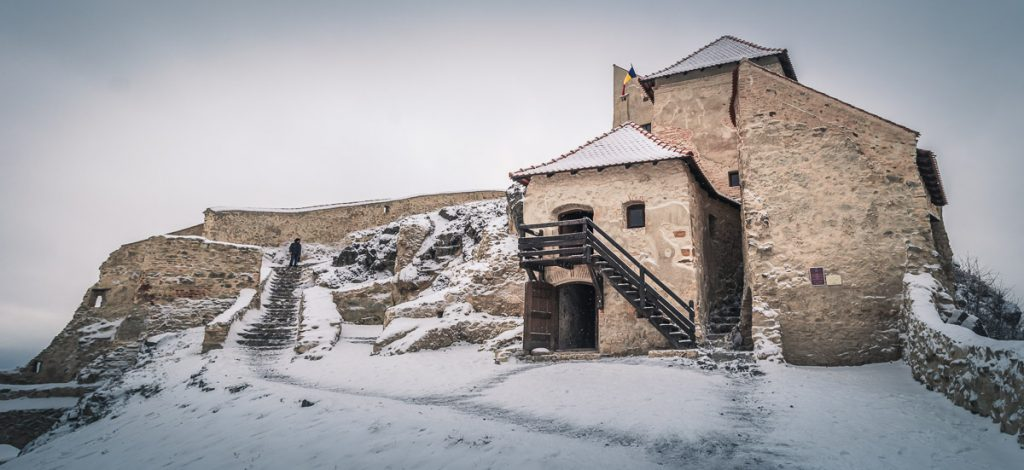 Old buildings in the Middle fortress.