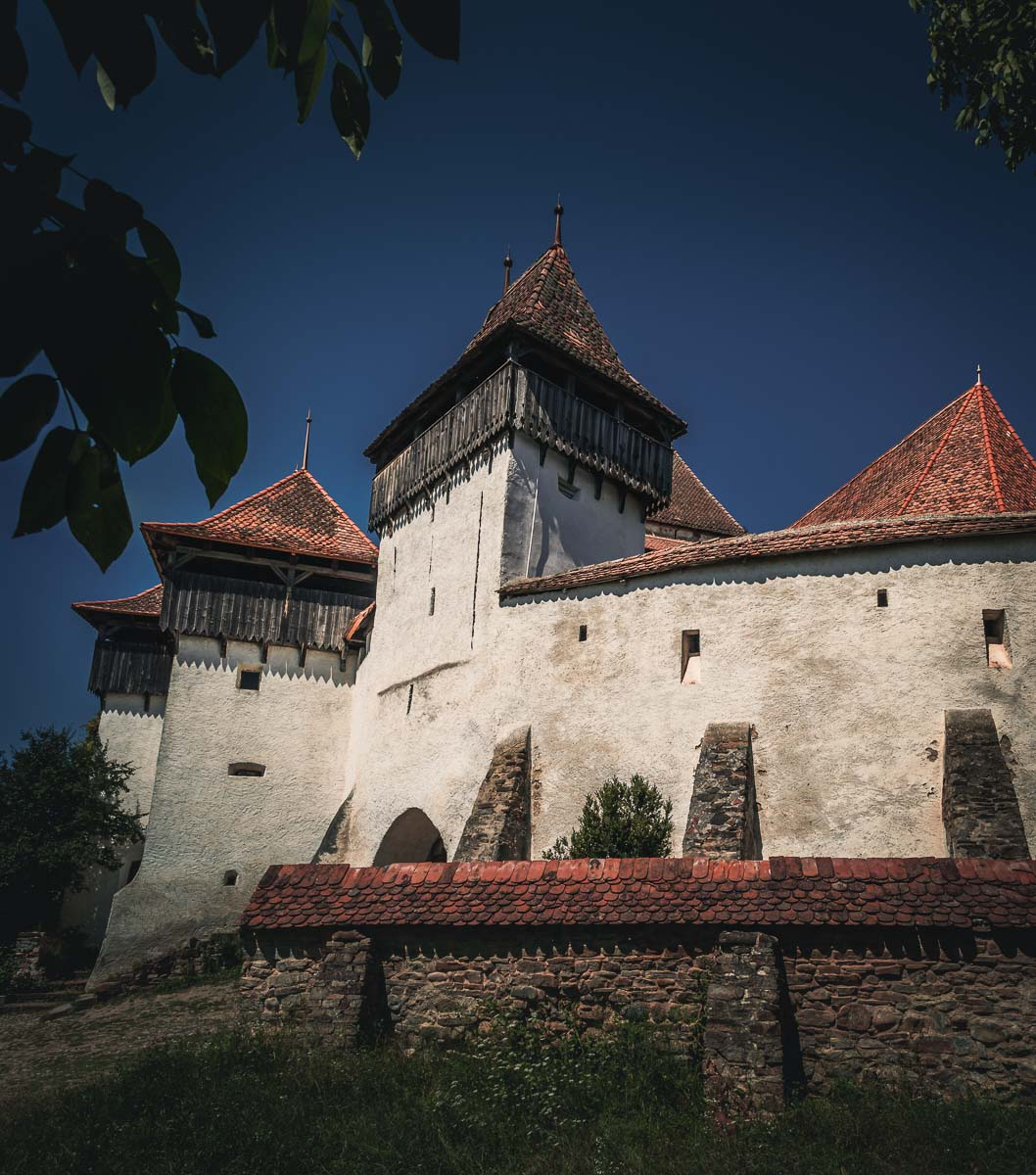 The Fortified Church in Viscri.