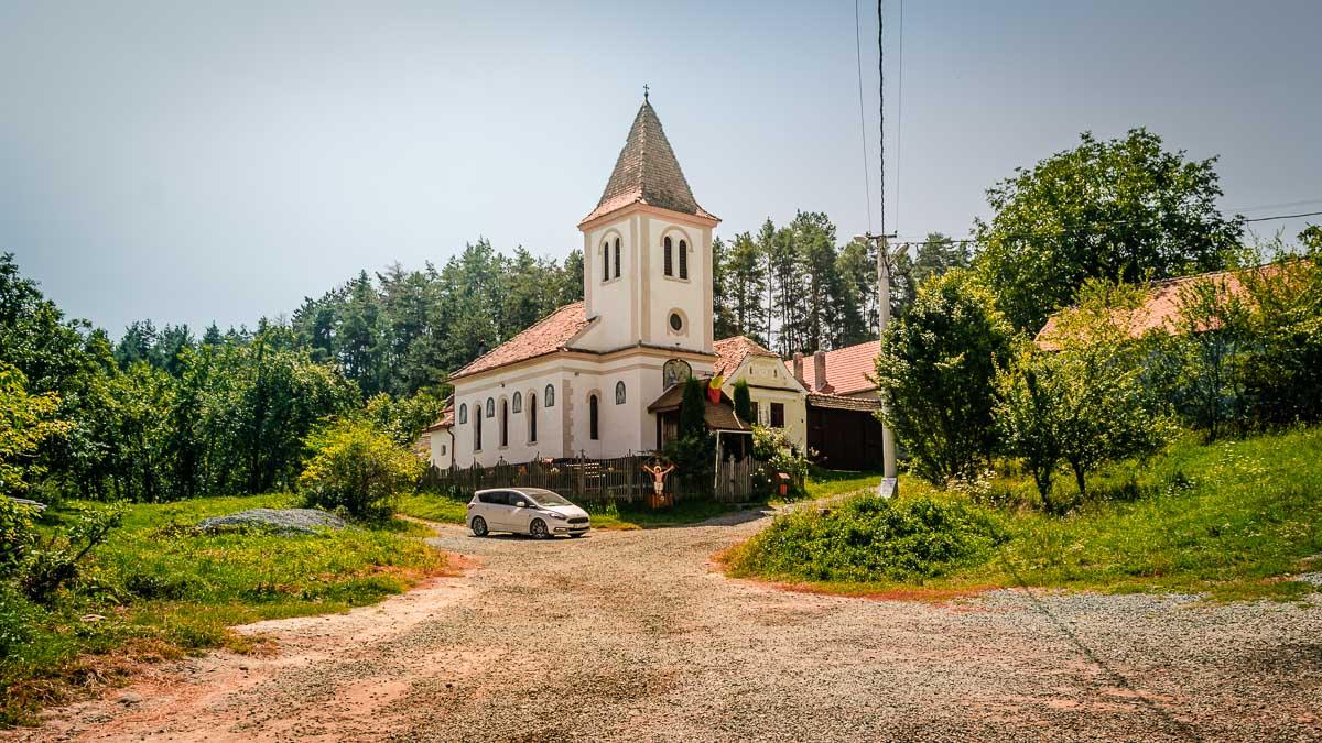 The Orthodox church in Viscri.