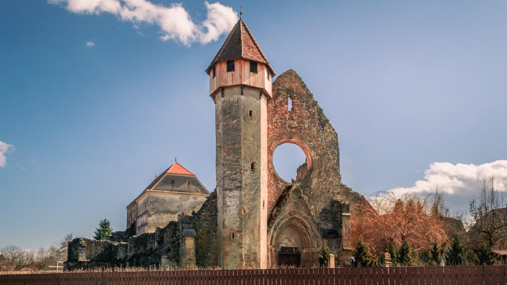The Cârța Monastery.