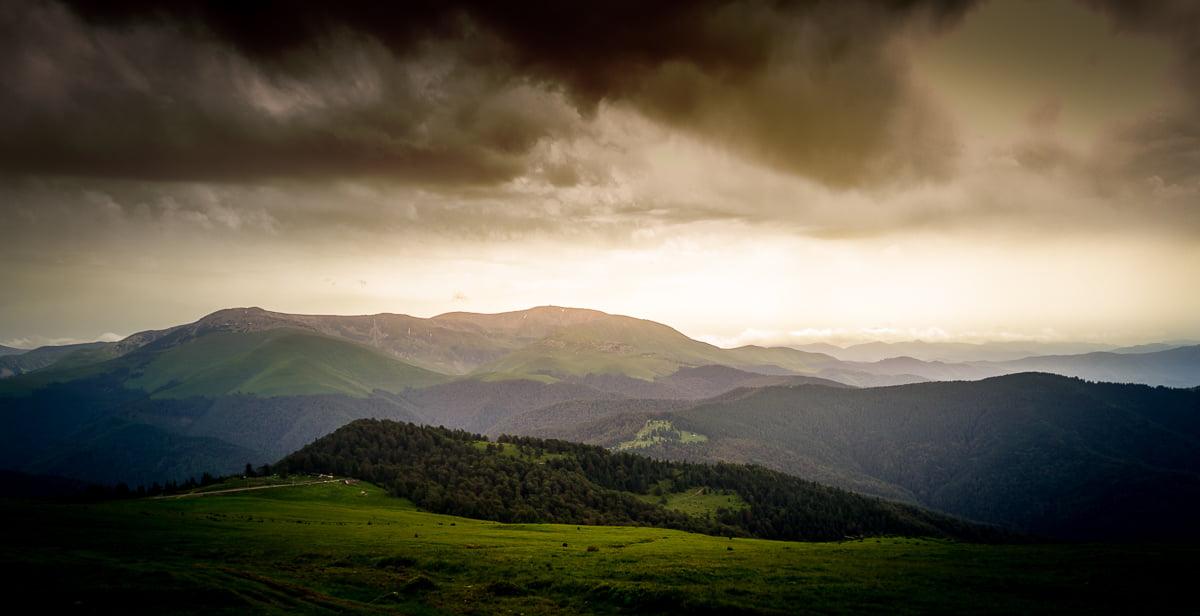 The Țarcu Mountains