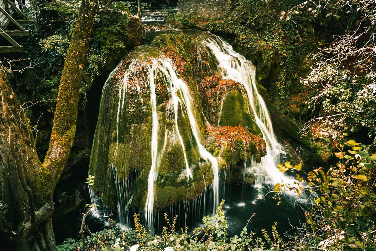 The Bigăr waterfall.