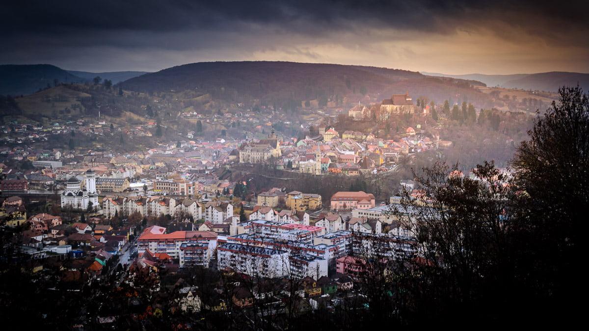 The city of Sighișoara