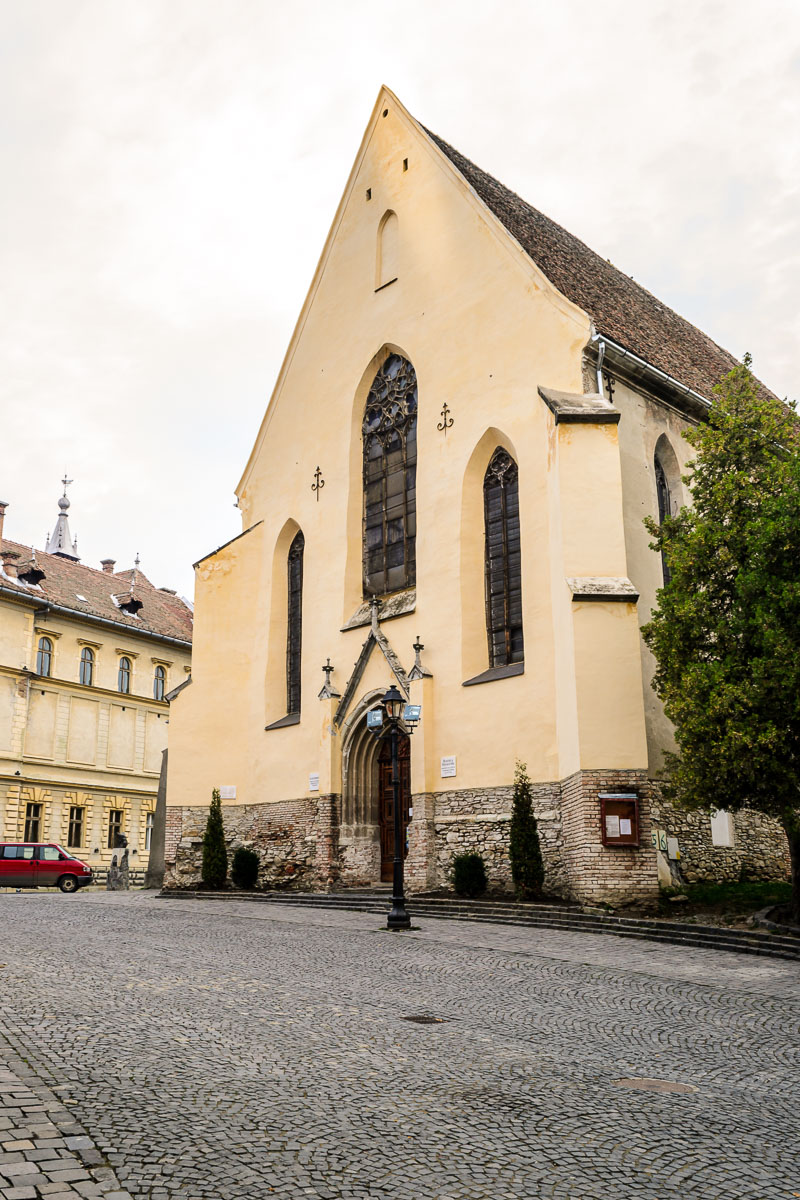 The Monastery Church in the medieval citadel.