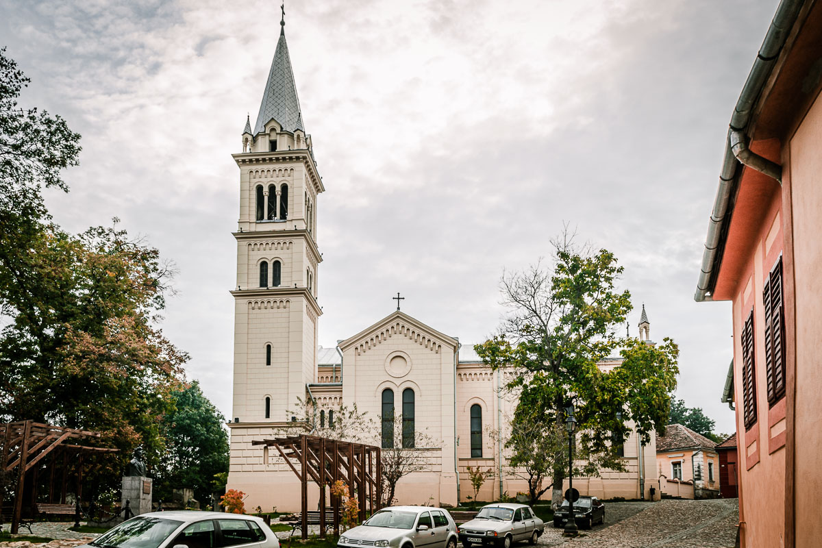 The Catholic church in the citadel.