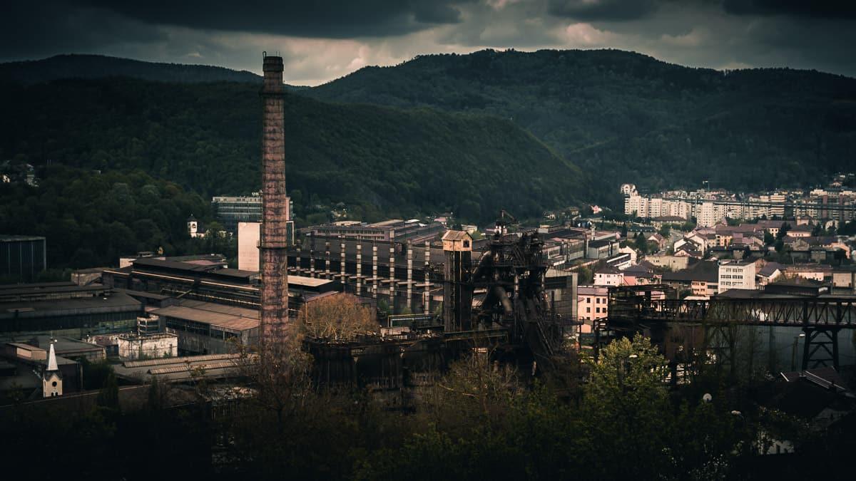 Reșița steel works