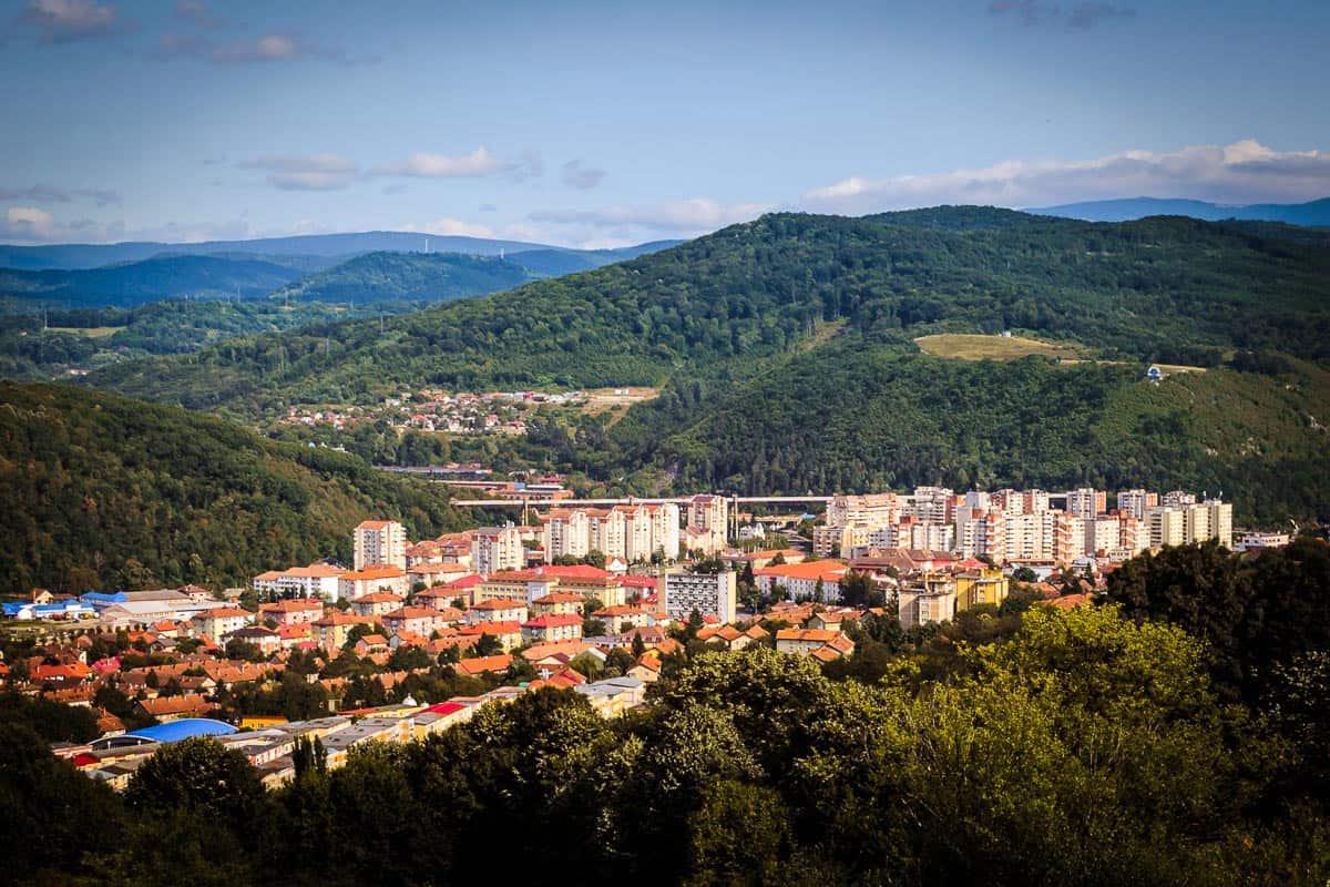 Lunca Pomostului neighborhood in Reșița.