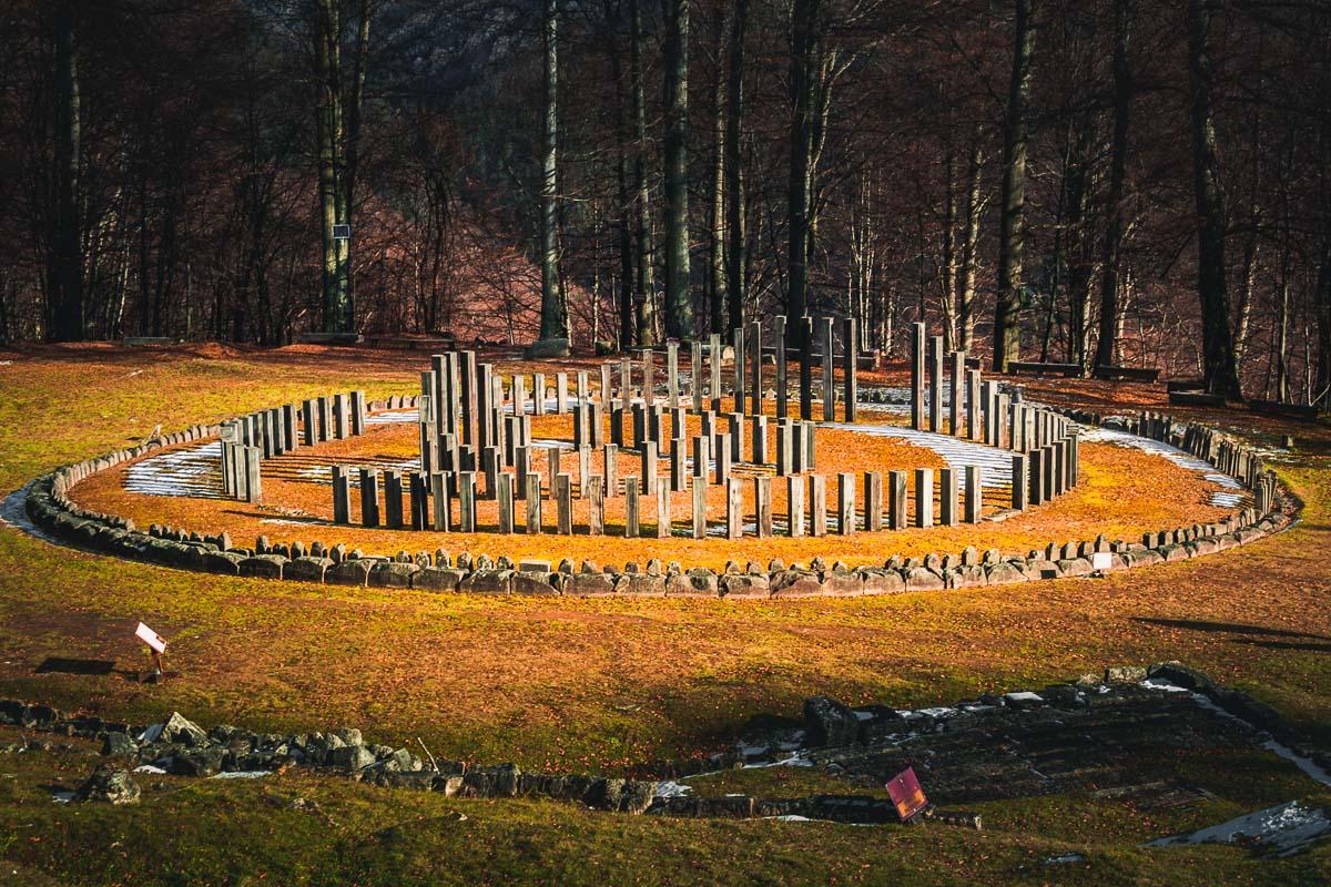 The circular sanctuary in Sarmizegetusa Regia.