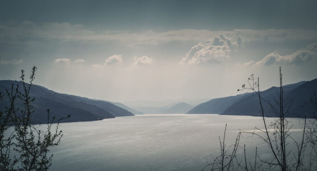 The Danube river after the Kazan gorge