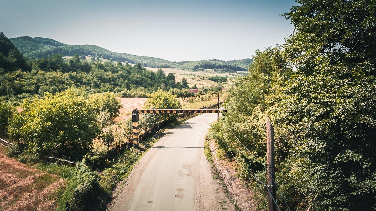 Transylvanian rural scenery.