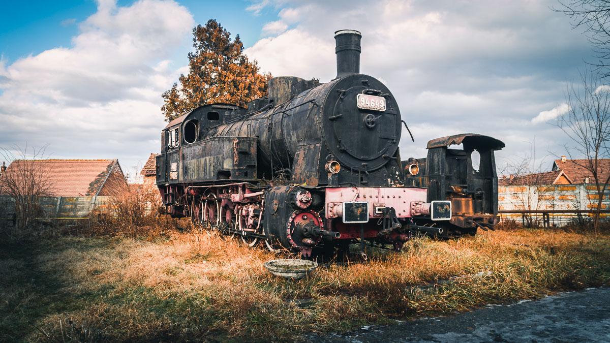 The No. 94649 steam locomotive