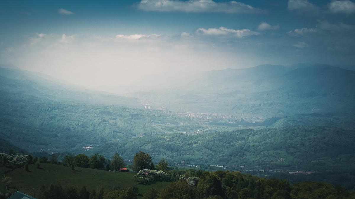 The Jiu valley.