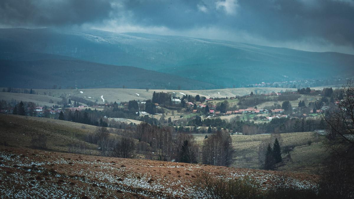 The village of Brebu Nou.