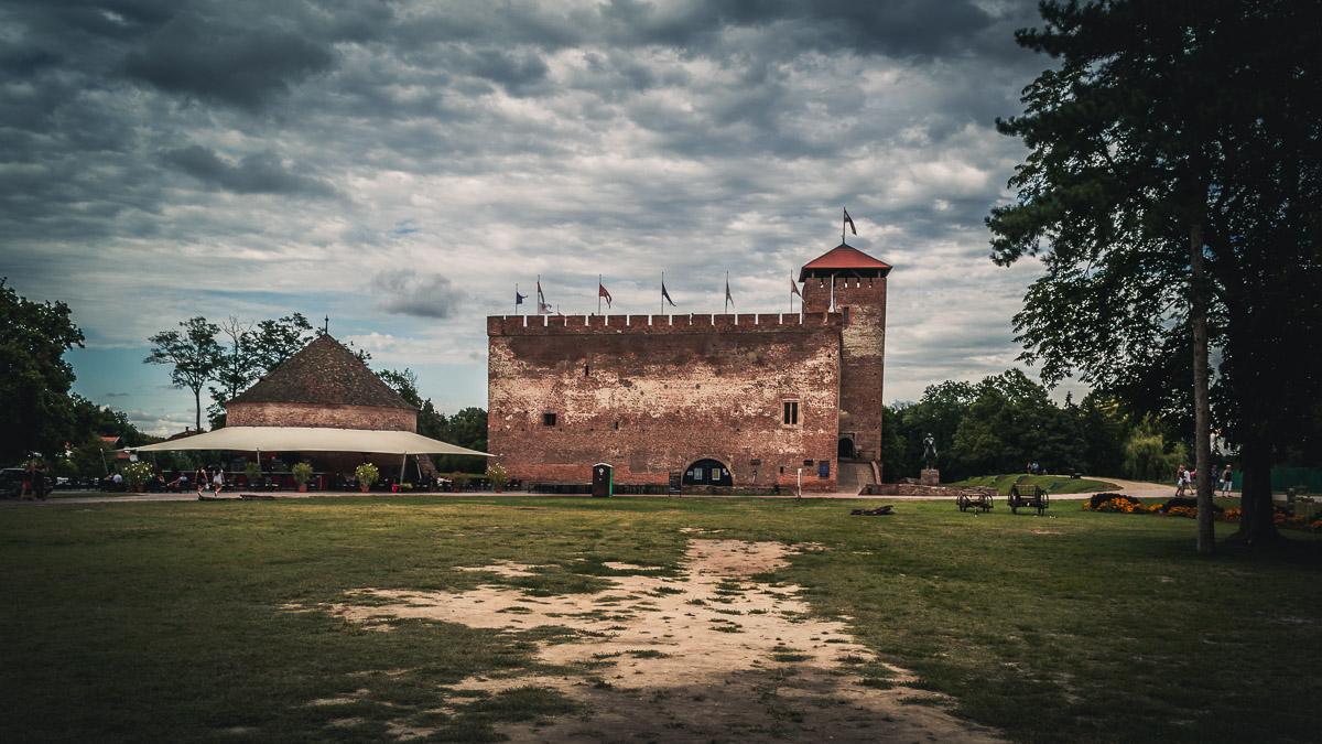 The Gyula castle.